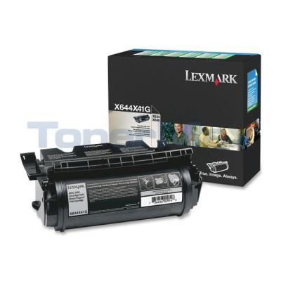 LEXMARK X644 PRINT CART BLACK RP 32K